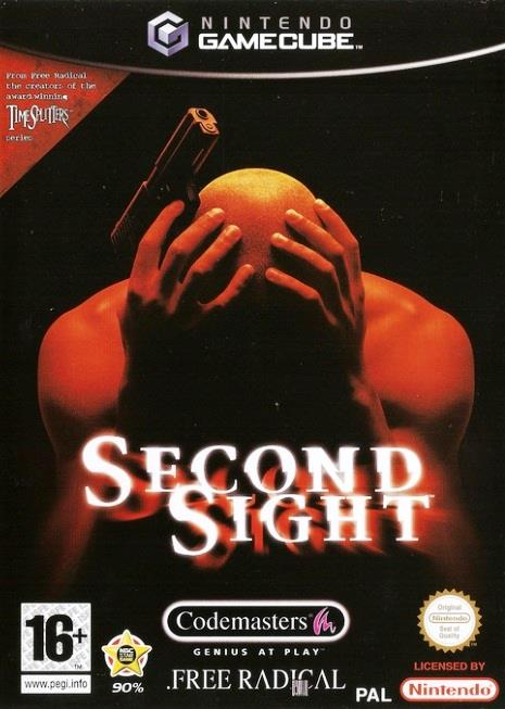 SONY GAME NINTENDO GC SECONDSIGHT