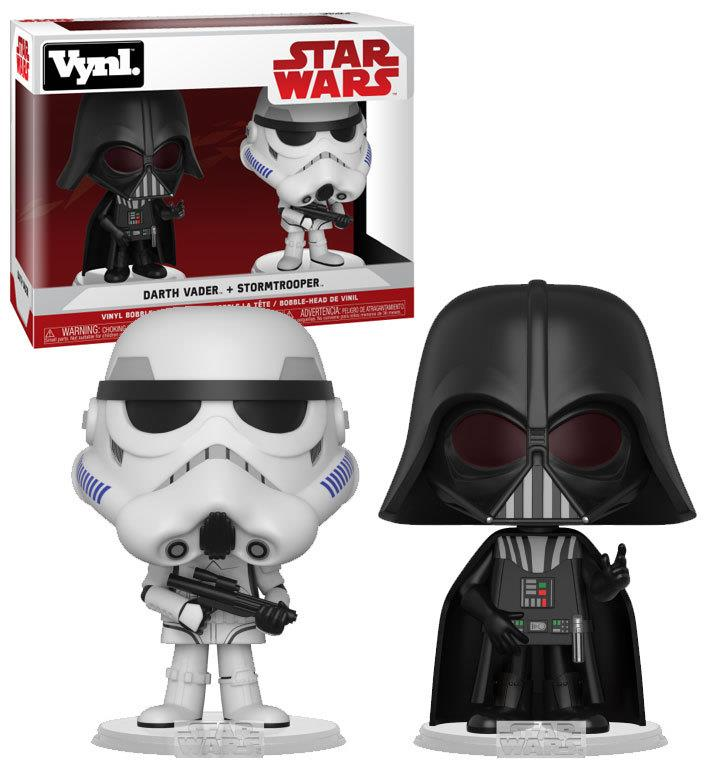 FUNKO ACTION FIGURES FUNKO VYNL STAR WARS DARTH VADER E STORMTROOPER