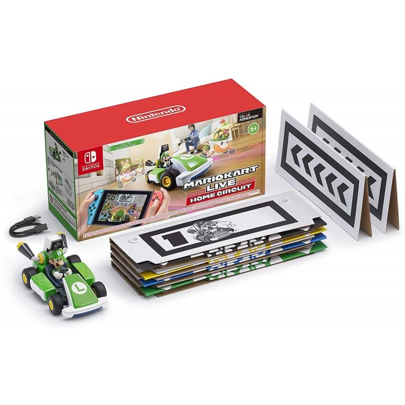 NINTENDO GAME NINTENDO SWITCH MARIO KART LIVE HOME CIRCUIT LUIGI
