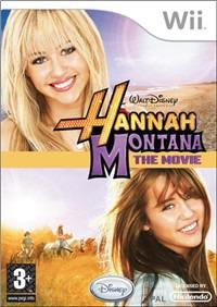 NINTENDO GAME NINTENDO WII HANNAH MONTANA THE MOVIE