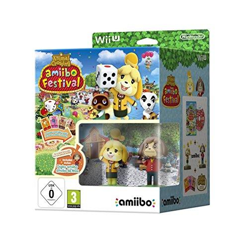 NINTENDO AMIIBO NINTENDO ANIMAL CROSSING 2 FIGURE + GAME AMIIBO FESTIVAL