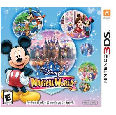 NINTENDO GAME NINTENDO 3DS DISNEY MAGICALWORLD