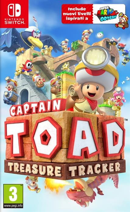 NINTENDO GAME NINTENDO SWITCH CAPTAIN TOAD TREASURE TRACKER