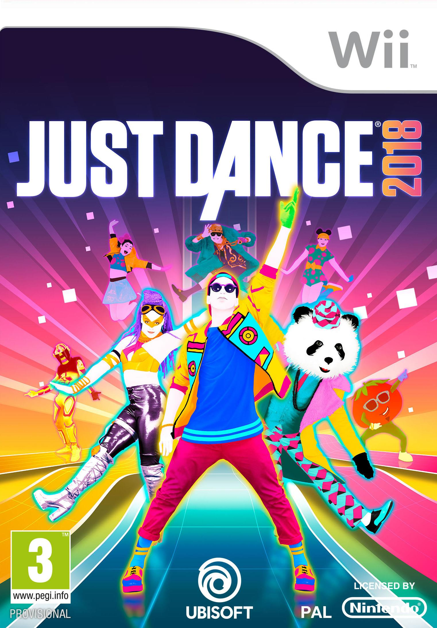 ELECTRONIC ARTS GAME WII JUST DANCE 2018