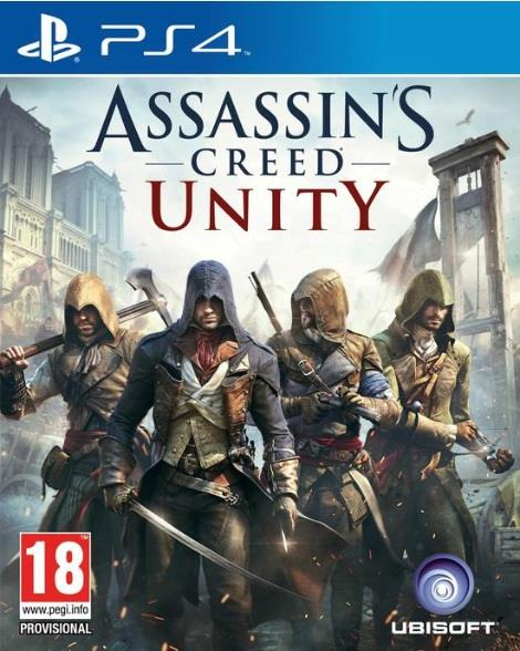 UBISOFT GAME SONY PS4 ASSASSIN'S CREED UNITY