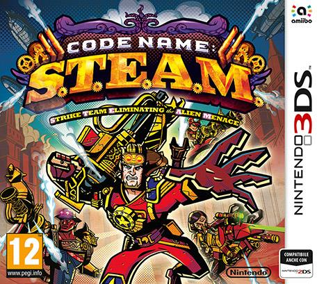 NINTENDO GAME NINTENDO 3DS CODE NAME: S.T.E.A.M.