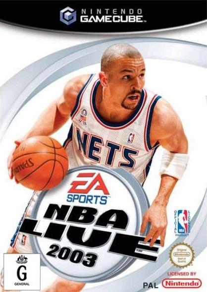 SONY GAME NINTENDO GC NBA LIVE 2003