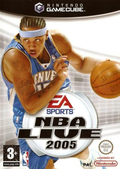 SONY GAME NINTENDO GC NBA LIVE 2005