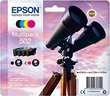 EPSON CARTUCCIA EPSON MULTIPACK COLOURS 502 INK