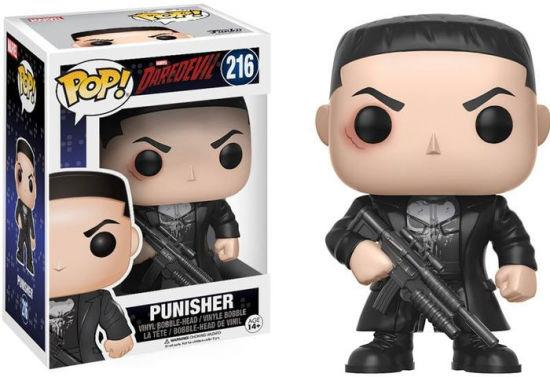 FUNKO ACTION FIGURES FUNKO POP MARVEL DAREDEVIL PUNISHER