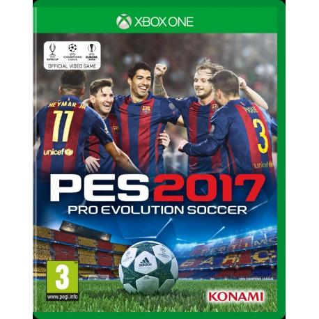 SONY GAME SONY PES 2017 PRO EVOLUTION SOCCER XBOX ONE
