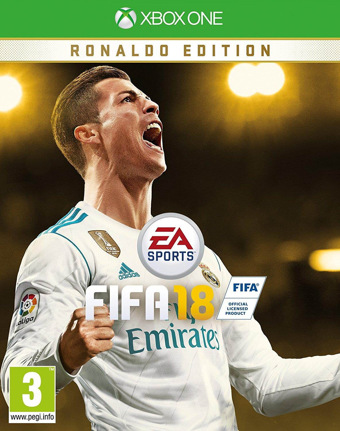 ELECTRONIC ARTS GAME XBOX ONE FIFA 18 Ronaldo ed