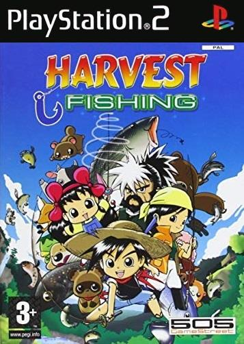 TX GAME SONY PS2 HARVEST FISHING