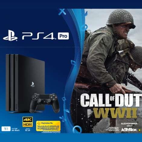 SONY CONSOLE PS4 PRO 1TB + CALL OF DUTY WORLD WAR 2