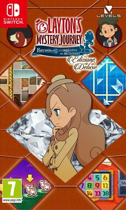 NINTENDO GAME NINTENDO SWITCH LAYTON'S MISTERY JOURNEY KATRIELLE E IL COMPLOTTO DEI MILIONARE DELUXE EDITION