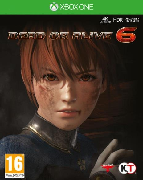 KOEI TECMO GAME XBOX ONE DEAD OR ALIVE 6