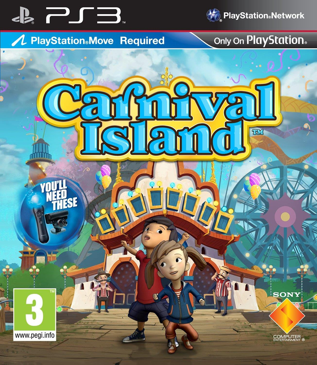 SONY GAME SONY PS3 CARNIVAL ISLAND