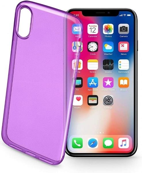 CELLULAR LINE CUSTODIA CELLULAR LINE ULTRASLIM PER IPHONE X VIOLA
