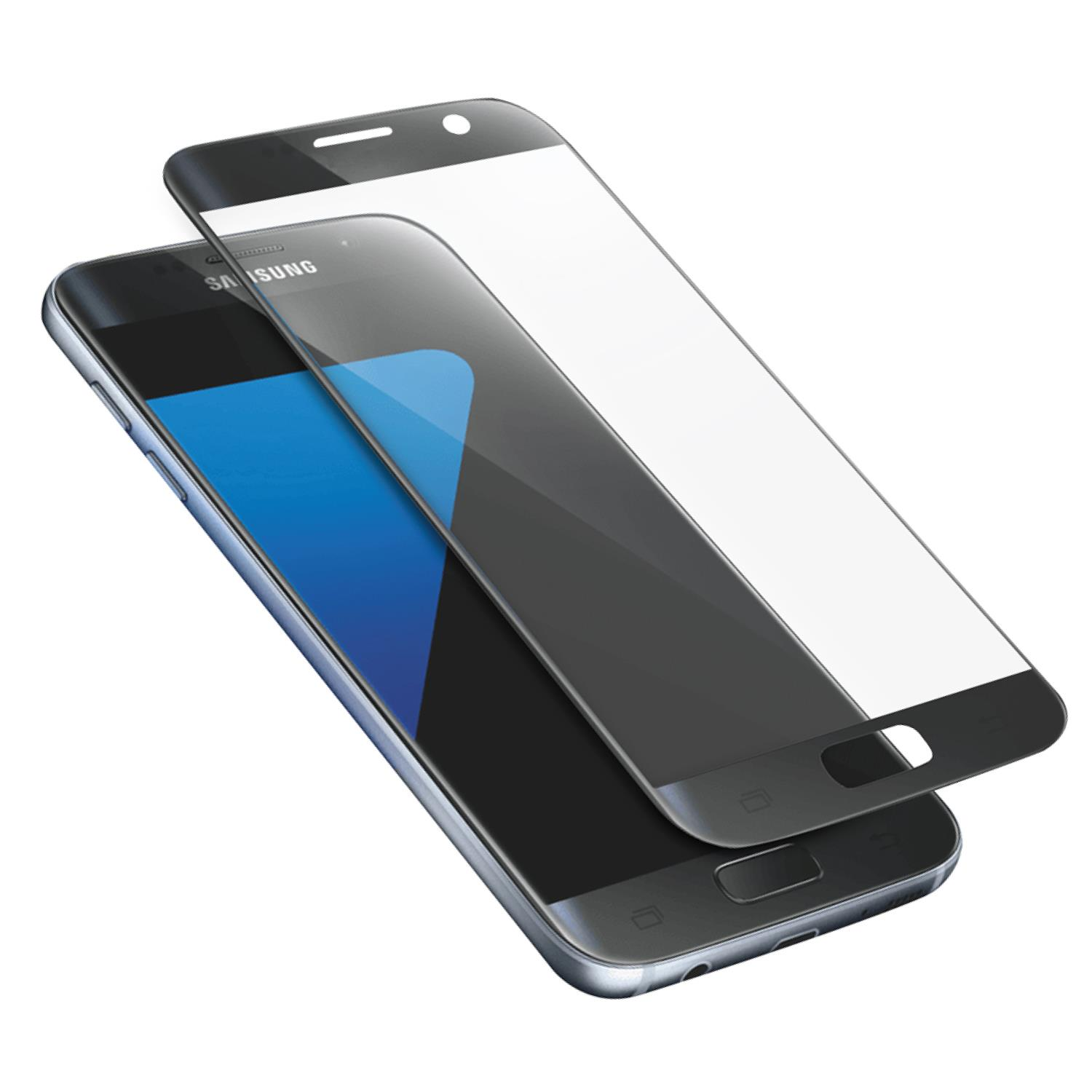 AREA AREA SCREEN PROTECTOR GLASS NERO (1PZ) PER GALAXY S7