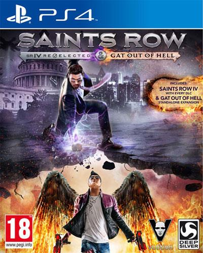 UBISOFT GAME SONY PS4 SAINTS ROW SR IV REELECTED GAT OUT OF HELL