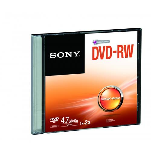 SONY DVD RW RISCRIVIBILE 2X 4 7 GB