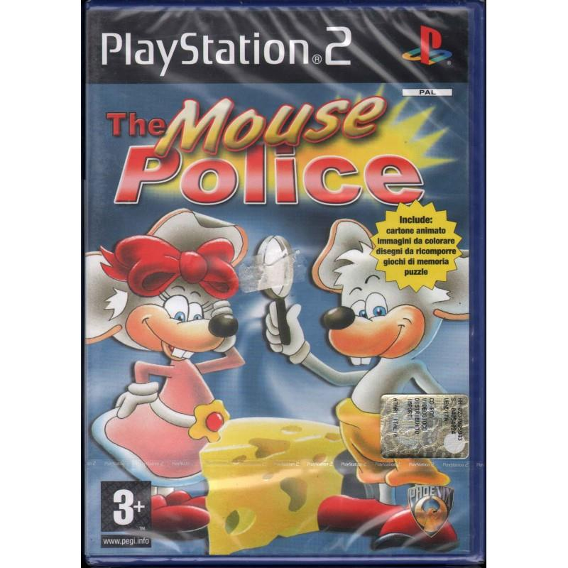 SONY GAME SONY PS2 THE MOUSEPOLICE
