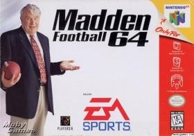 NINTENDO GAME NINTENDO N64 MADDEN FOOTBALL