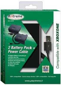 XTREME KIT BATTERIE XTREME RICARICABILI XBOX ONE CON CAVO