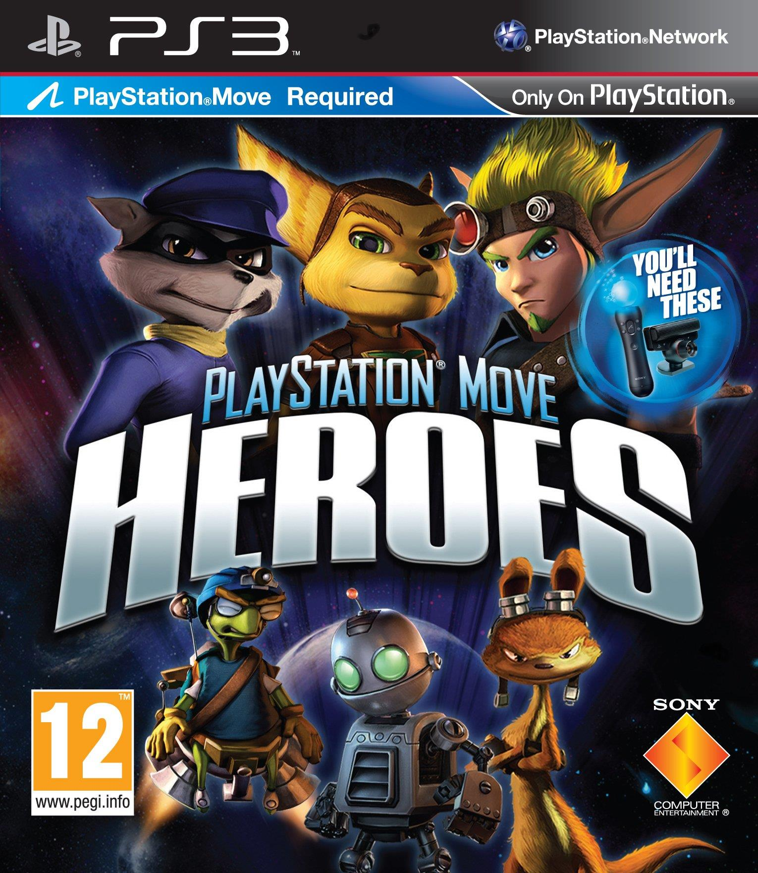 SONY GAME SONY PS3 HEROES