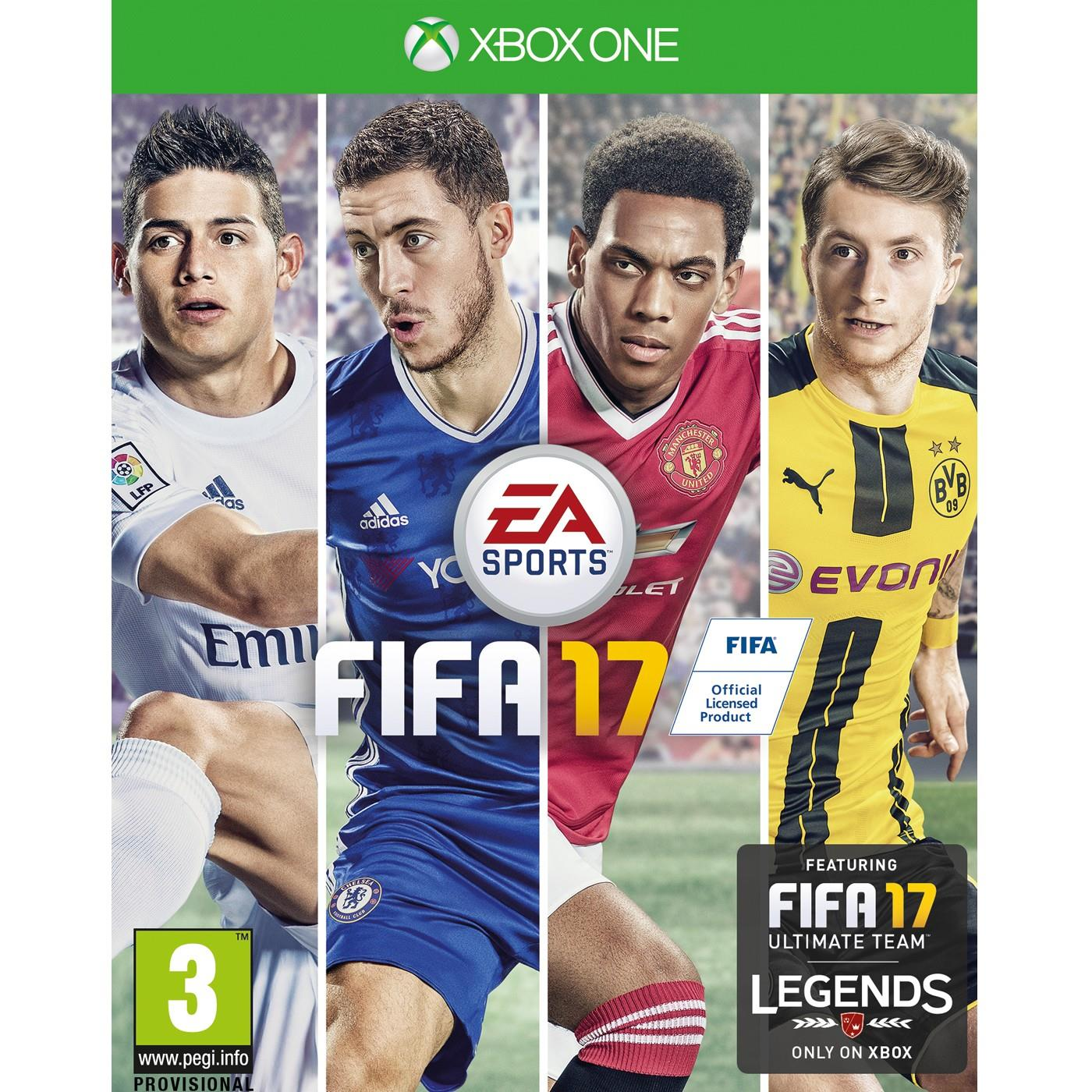 ELECTRONIC ARTS GAME XBOX ONE FIFA 2017