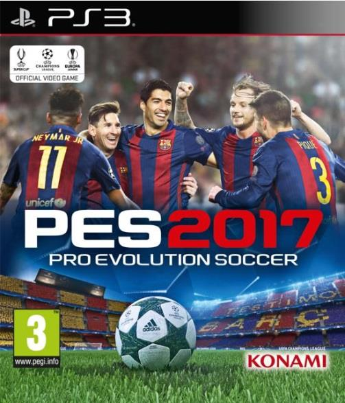 SONY GAME SONY PS3 PES 2017 PRO EVOLUTION SOCCER