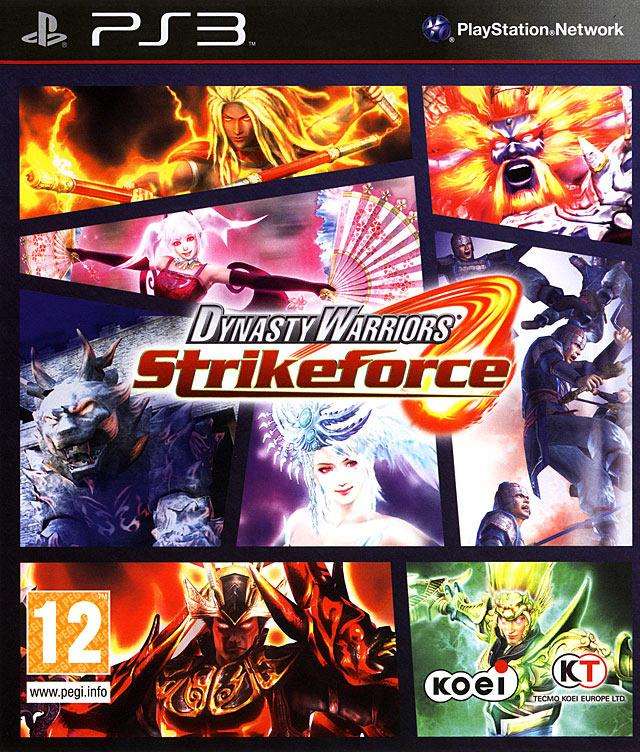 TX GAME SONY PS3 DYNASTY WARRIORS STRIKEFORCE