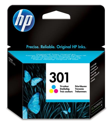 HP CARTUCCIA INK 301TRICROMIA