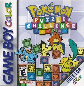 NINTENDO GAME NINTENDO GBC POKEMON PUZZLE CHALLENGE GAME BOY