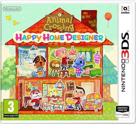 NINTENDO GAME 3DS ANIMAL CROSSING: HAPPY HOME DESIGNER
