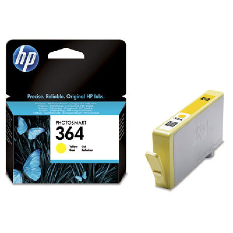 HP CART INK H GIALLO N 364X PER C5380 C6380 D5460 BLISTER