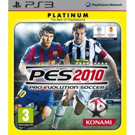 UBISOFT GAME PS3 PLAT. PRO EVOLUTION SOCCER 2010