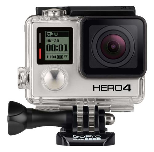 GO PRO VIDEOCAMERA OUTDOOR HERO 4 BLACK 12 MP VIDEO 4 K