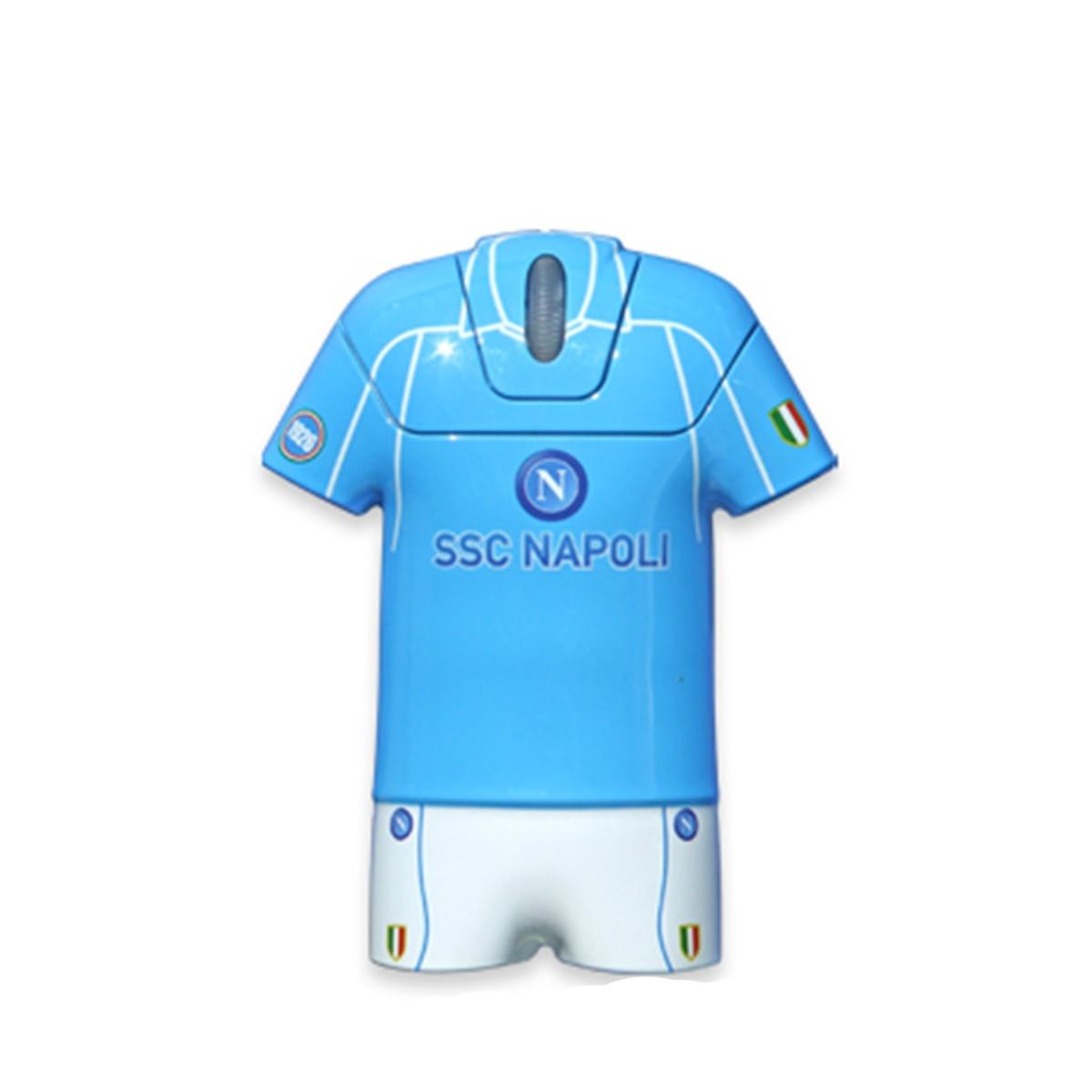 TECHMADE MOUSE T-SHIRT SSC NAPOLI 1600DPI