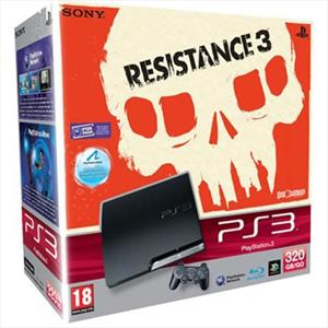 SONY CONSOLE SONY PS3 320GB+RESISTANCE 3