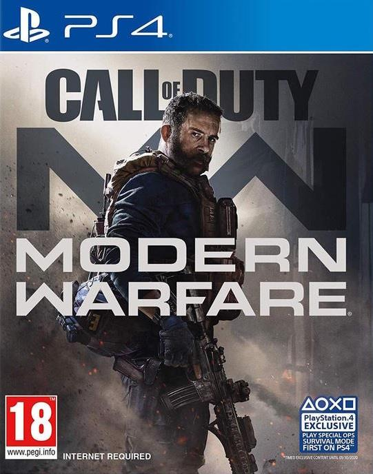 ACTIVISION GAME SONY PS4 CALL OF DUTY MODERN WARFARE