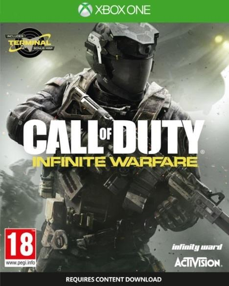 ACTIVISION GAME MICROSOFT XBOX ONE CALL OF DUTY INIFNITE WAREFARE