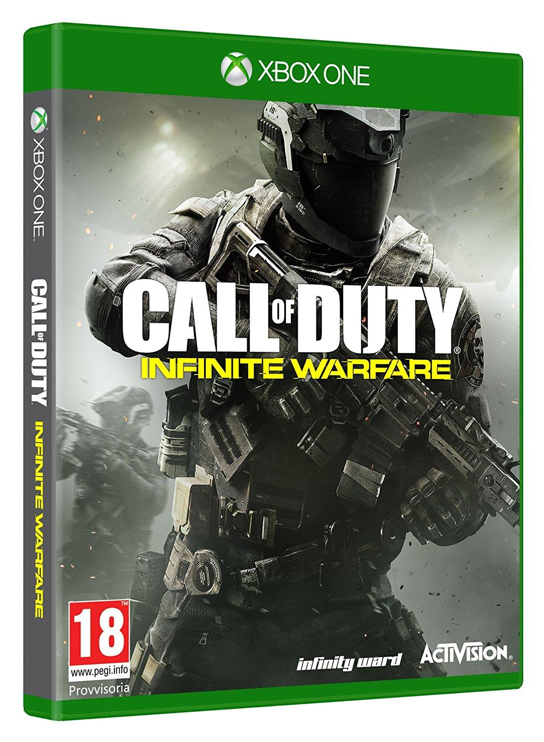 ACTIVISION GAME XBOX ONE MICROSOFTCALL OF DUTY INIFNITY WAREFARE