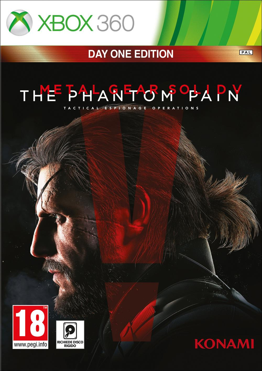 HALIFAX MGS V THE PHANTOM PAIN XBOX360 DAYONE EDITION