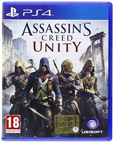 UBISOFT GAME PS4 ASSASSINS CREED UNITY