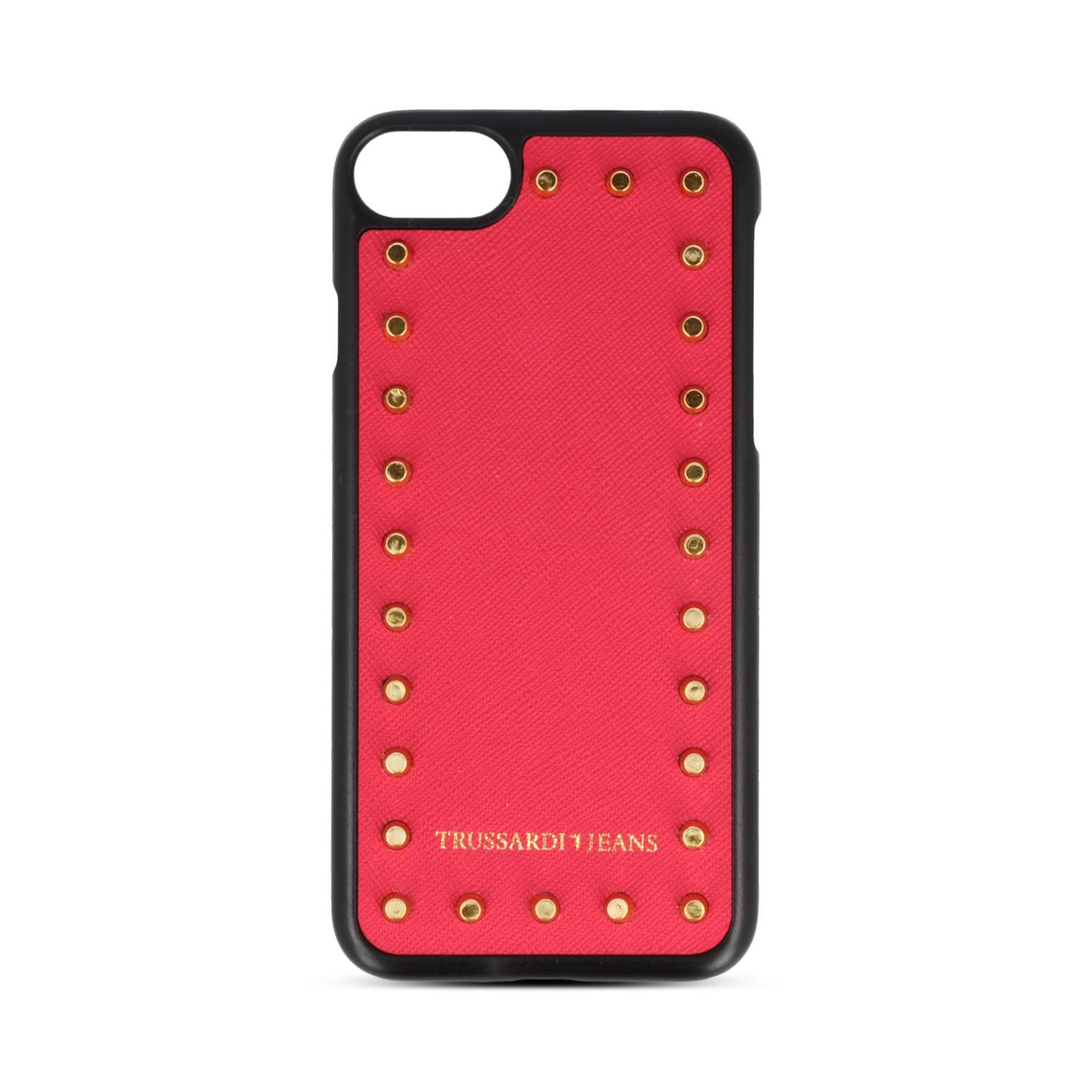 TRUSSARDI CUSTODIA TRUSSARDI RED WHID STUDS X IPHONE 6/6S/7