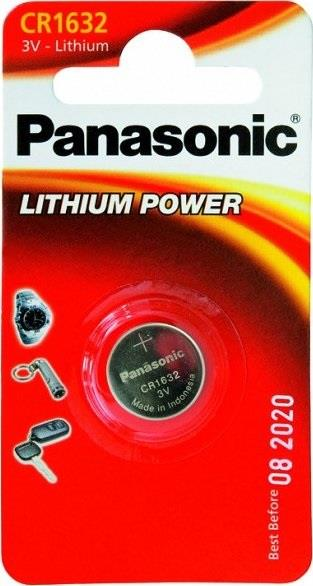 VARTA BATTERIE PANASONIC LITIO CR1632