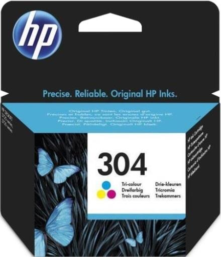 HP CARTUCCIA INK HP 304 TRICROMIA BLISTER