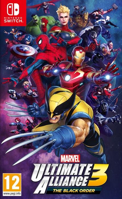NINTENDO GAME NINTENDO SWITCH MARVEL ULTIMATE ALLIANCE 3: THE B. O.