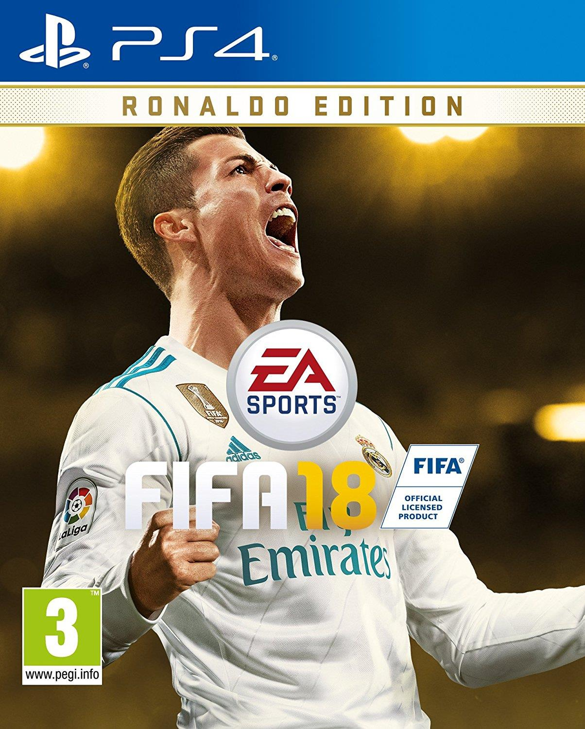 ELECTRONIC ARTS GAME SONY PS4 FIFA 18 Ronaldo ed